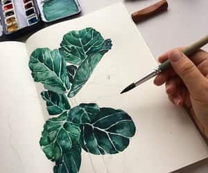 amazing, green, and painting image