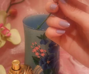pink, nails, and aesthetic image