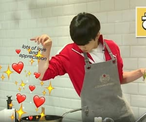 meme, bts, and hearts image
