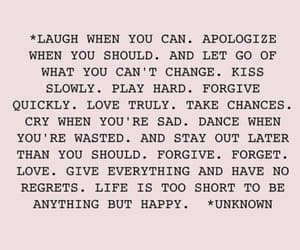 love, forget, and laugh image