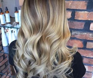 beauty, blond, and blonde hair image
