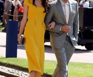 george clooney, royal wedding, and amal image