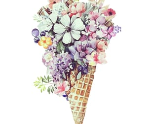 beautiful, cone, and flower image