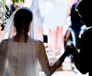 couple, royal, and wedding image
