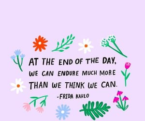 quotes, flowers, and frida kahlo image