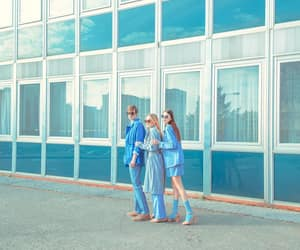 baby blue, blue, and editorial image