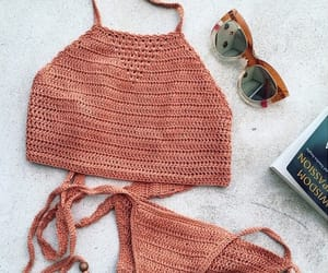 bikini, outfit, and summer image