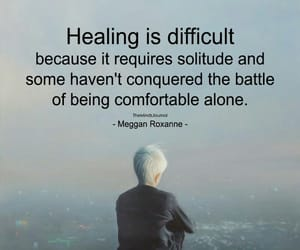 battle, healing, and quote image