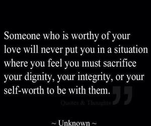 quotes, love, and dignity image