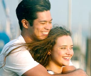 13 reasons why, ross butler, and katherine langford image