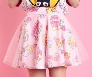 kawaii, moda, and pink image