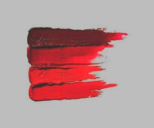 red, aesthetic, and paint image