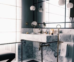 bathroom, inspiration, and interior image