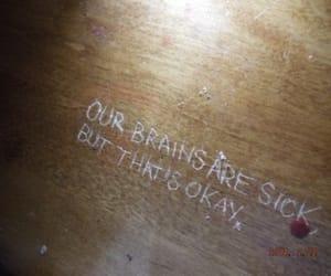 grunge, sick, and brain image