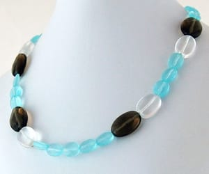 avant garde, natural stone, and wedding jewelry image