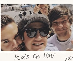 Harry Styles, liam payne, and louis tomlinson image