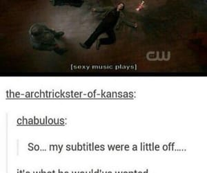 supernatural, gabriel, and funny image