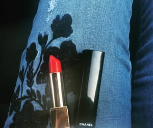 chanel, red lips, and clasic image