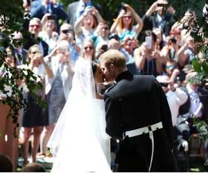 dress, prince harry, and royal wedding image