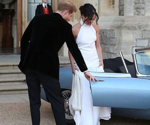 prince harry, royal wedding, and meghan markle image