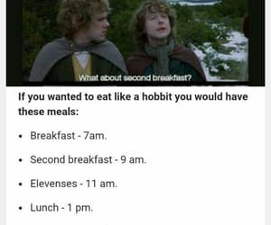 hobbit and meal image