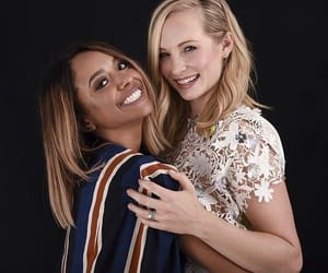 candice accola, kat graham, and candice king image