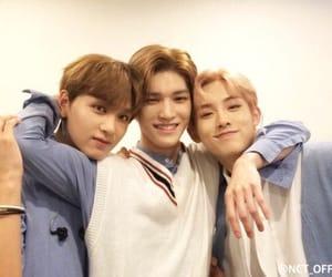 taeyong, haechan, and winwin image