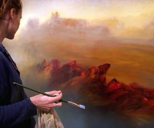 painting, art, and brush image
