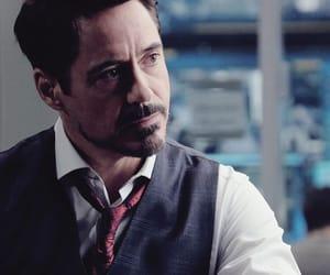tony stark, iron man, and robert downey jr image
