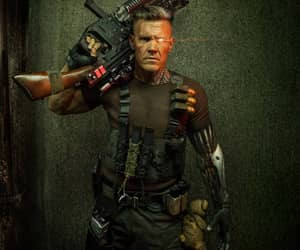 cable, deadpool, and domino image