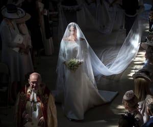 wedding, royal wedding, and dress image