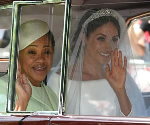 Meghan 👰 and her mother 👵