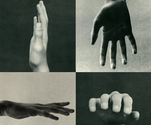hands and black and white image