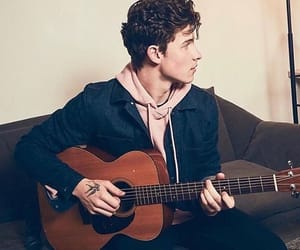 shawn mendes, guitar, and singer image