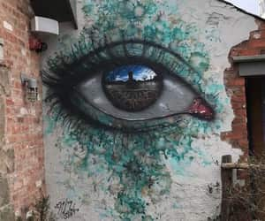 art, eye, and street art image