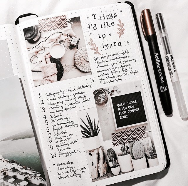 journal, school, and inspo image