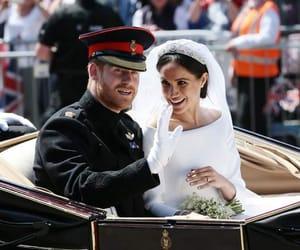 person, royal, and wedding image