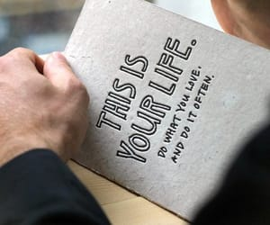 life, quotes, and book image