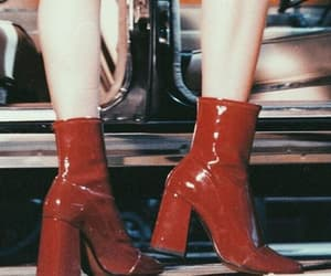 boots, fashion, and vintage image