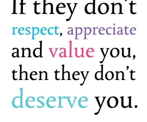 quote, respect, and value image