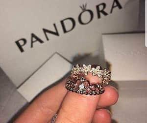 jewellery, pandora, and ring image