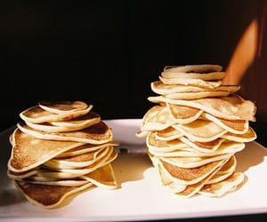 pancakes, food, and vintage image