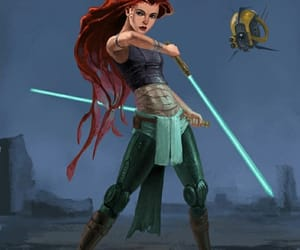 ariel, princess, and star wars image