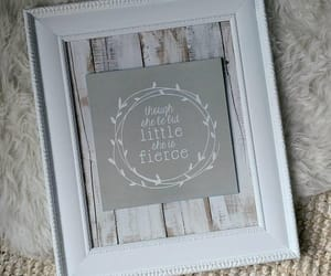 etsy, pallet wood sign, and baby girl decor image