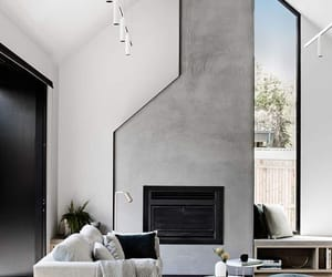 interior, design, and grey image