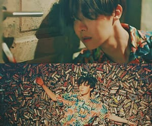 k-pop, fake love, and hoseok image