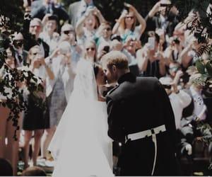 royal wedding, wedding, and dress image