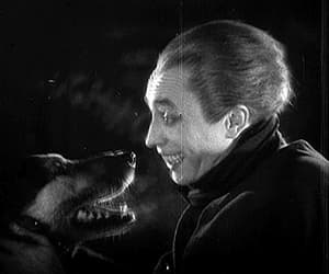 conrad veidt, gif, and the man who laughs image