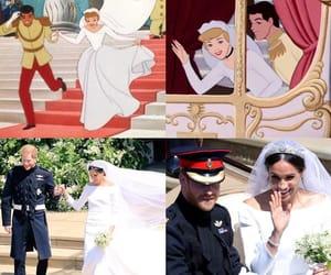 prince harry, royal wedding, and cinderella image
