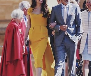 royal, wedding, and clooney image